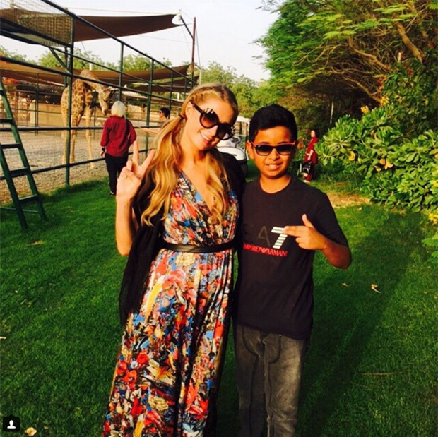 Cuộc sống toàn hàng hiệu, siêu xe, thú cưng đặc biệt và làm bạn với người nổi tiếng của cậu ấm Dubai 15 tuổi-13