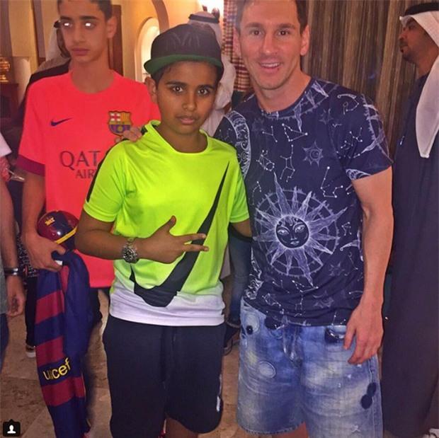 Cuộc sống toàn hàng hiệu, siêu xe, thú cưng đặc biệt và làm bạn với người nổi tiếng của cậu ấm Dubai 15 tuổi-2