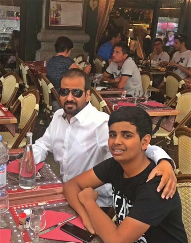 Cuộc sống toàn hàng hiệu, siêu xe, thú cưng đặc biệt và làm bạn với người nổi tiếng của cậu ấm Dubai 15 tuổi-6