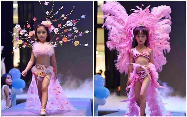 TQ: Dư luận dậy sóng khi trung tâm thương mại cho trẻ nhỏ biểu diễn trang phục nội y như Victorias Secret - Ảnh 1.