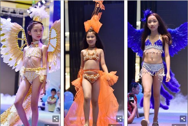 TQ: Dư luận dậy sóng khi trung tâm thương mại cho trẻ nhỏ biểu diễn trang phục nội y như Victorias Secret - Ảnh 2.