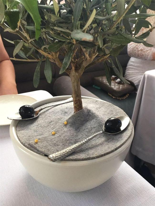 Những đĩa thức ăn độc nhất vô nhị của các nhà hàng khiến thực khách chỉ biết câm nín - Ảnh 11.