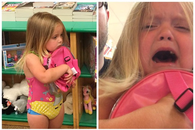 Con gái đòi mua cặp sách Peppa Pig, ông bố đã từ chối thẳng thừng và dạy các cha mẹ một bài học quý - Ảnh 1.
