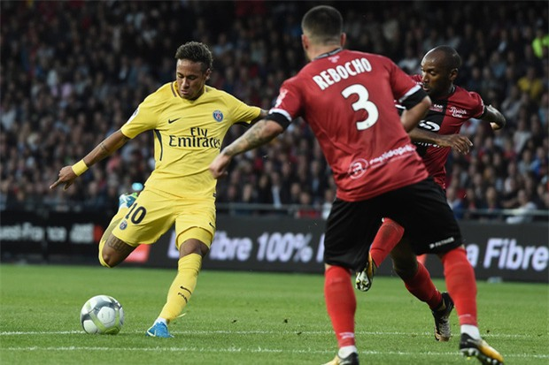 Neymar nổ súng, tỏa sáng rực rỡ trong ngày ra mắt PSG - Ảnh 4.