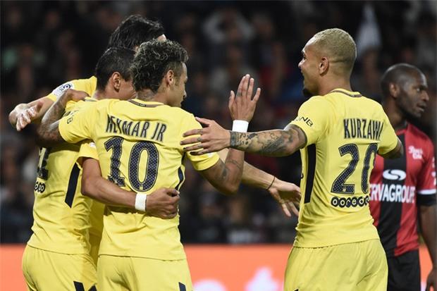Neymar nổ súng, tỏa sáng rực rỡ trong ngày ra mắt PSG - Ảnh 6.