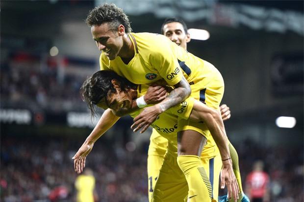 Neymar nổ súng, tỏa sáng rực rỡ trong ngày ra mắt PSG - Ảnh 7.