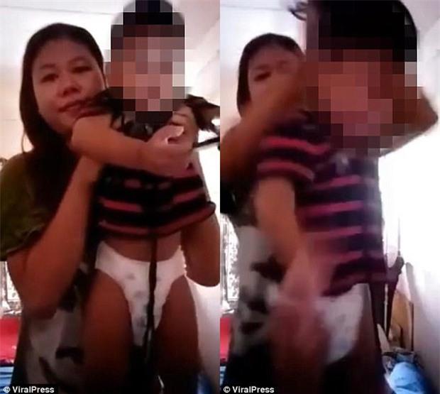 Câu chuyện phía sau đoạn video mẹ dùng dây thắt cổ con trai khiến cư dân mạng Việt Nam phẫn nộ - Ảnh 1.