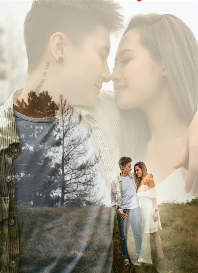 MC Ngọc Trang khoe ảnh cưới với người yêu đồng giới kém 8 tuổi-1