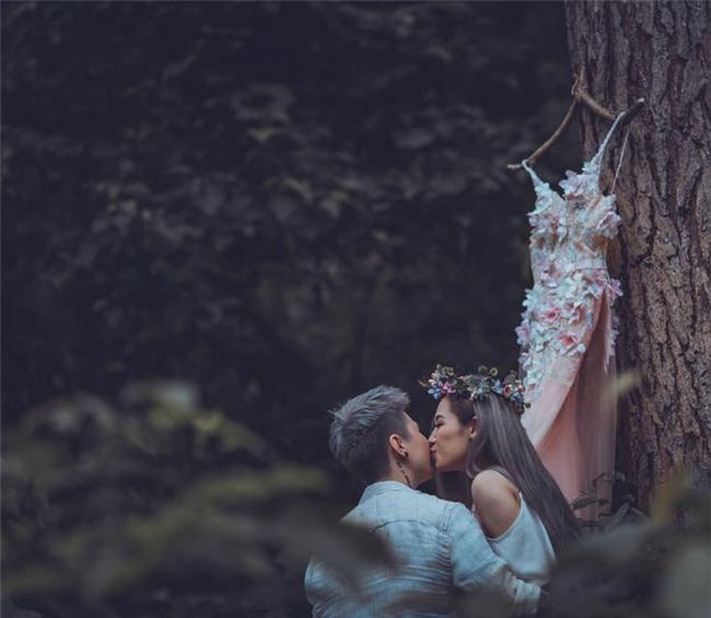 MC Ngọc Trang khoe ảnh cưới với người yêu đồng giới kém 8 tuổi-12