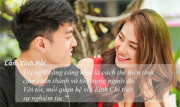 Tua chậm 6 tháng hẹn hò 'ngọt ngào và man trá' của Linh Chi - Lâm Vinh Hải-3