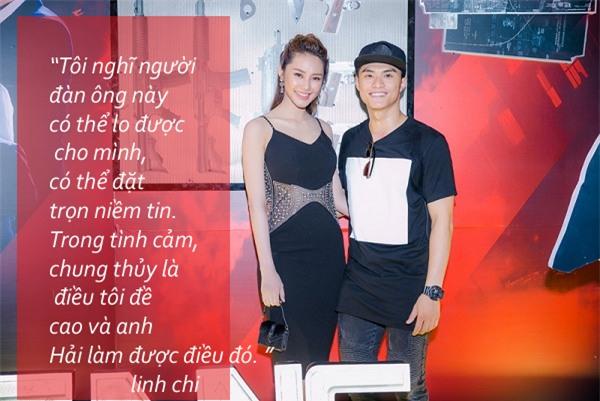 Tua chậm 6 tháng hẹn hò 'ngọt ngào và man trá' của Linh Chi - Lâm Vinh Hải-7