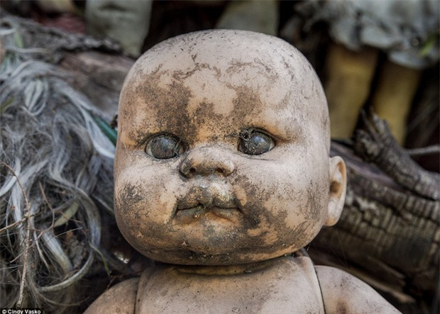 Cơn ác mộng Isla de las Munecas: Hòn đảo với hàng nghìn con búp bê kinh dị được treo lủng lẳng trên cây - Ảnh 11.