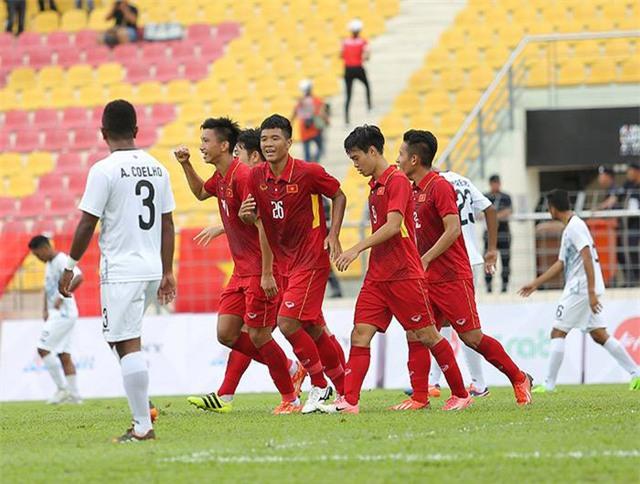 U22 Việt Nam lại bị chơi chiêu tại SEA Games 29