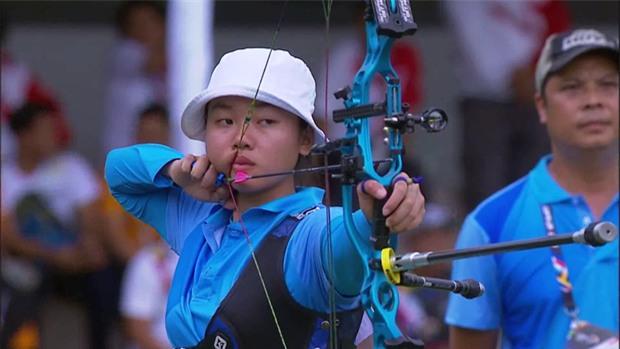 Chân dung cô gái xinh xắn tạo dấu mốc cho bắn cung Việt Nam ở SEA Games - Ảnh 1.
