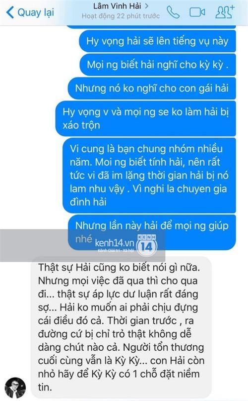 Lâm Vinh Hải nói gì trước lùm xùm vợ cũ cặp kè bạn thân? - Ảnh 2.