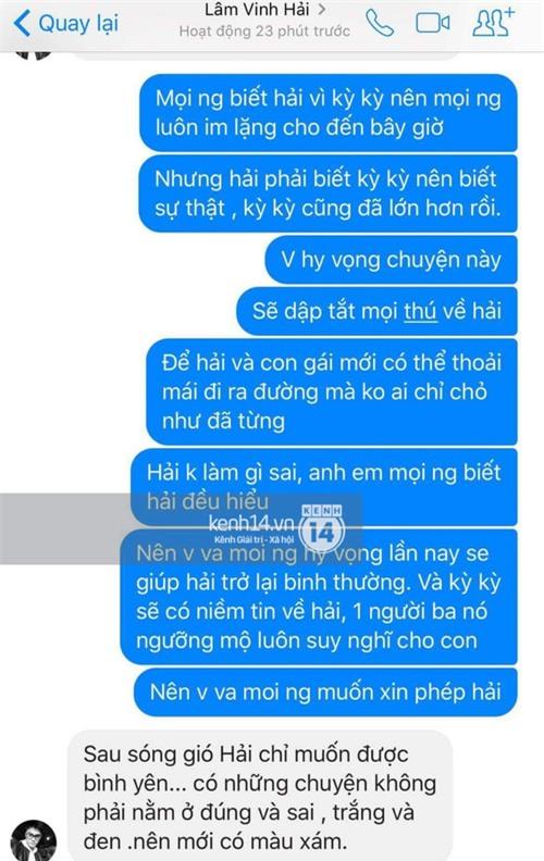 Lâm Vinh Hải nói gì trước lùm xùm vợ cũ cặp kè bạn thân? - Ảnh 3.