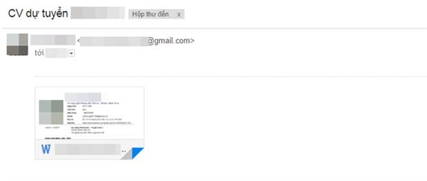 Sinh viên sắp ra trường trêu ngươi nhà tuyển dụng: Thư xin việc không tiêu đề, không nội dung, còn được forward từ một email khác! - Ảnh 3.