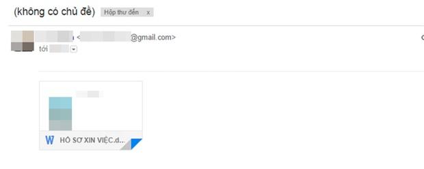 Sinh viên sắp ra trường trêu ngươi nhà tuyển dụng: Thư xin việc không tiêu đề, không nội dung, còn được forward từ một email khác! - Ảnh 4.