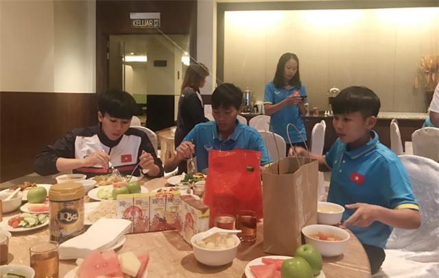 Đội tuyển nữ Việt Nam tại Kuala Lumpur, chờ trận ra quân gặp Philippines (ảnh: Vũ Dương)
