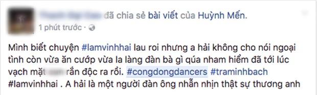 Cộng đồng dancer đồng loạt lên tiếng bảo vệ Lâm Vinh Hải - Ảnh 5.