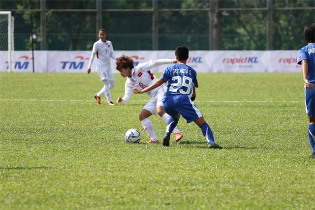 Những trận đấu quan trọng hơn của đội nữ Việt Nam vẫn còn ở phía trước (ảnh: Q.H)
