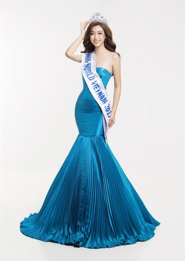 Hoa hậu Đỗ Mỹ Linh khoe vẻ đẹp tinh khôi khi trở thành 'Miss World Vietnam 2017'-4