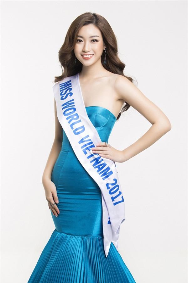 Hoa hậu Đỗ Mỹ Linh khoe vẻ đẹp tinh khôi khi trở thành 'Miss World Vietnam 2017'-5