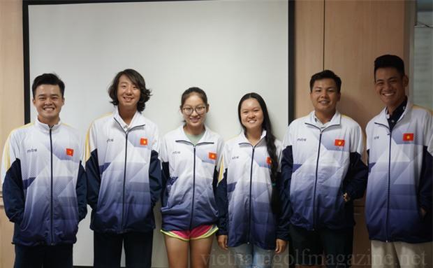 Golf thủ chân dài, xinh như hot girl trẻ nhất đoàn thể thao Việt Nam tại SEA Games 29 - Ảnh 2.