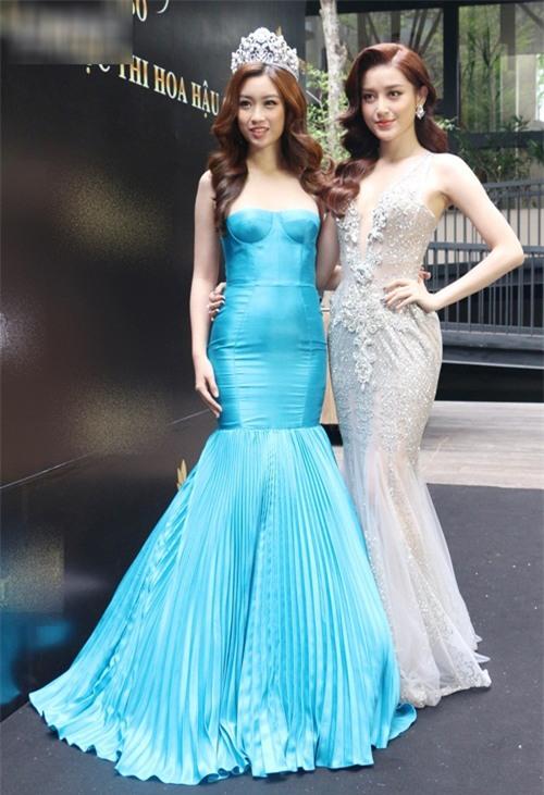 Ngay sự kiện công bố tham dự cuộc thi Hoa hậu Thế giới 2017, HH Đỗ Mỹ Linh đã bị dìm dáng - Ảnh 2.