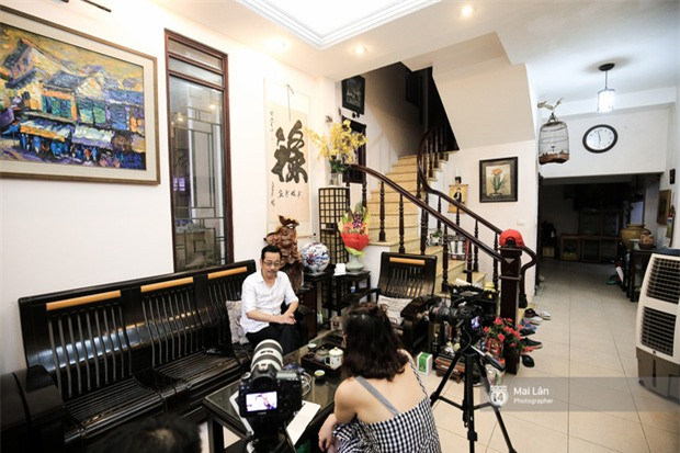 Căn nhà cổ kính, rợp bóng cây xanh của ông trùm Phan Thị - NSND Hoàng Dũng - Ảnh 6.