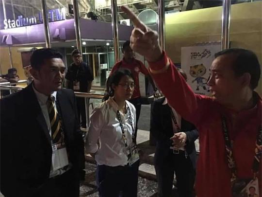 Nghi tài xế chở đội nữ Myanmar ăn cắp, tăng cường an ninh SEA Games - Ảnh 3.