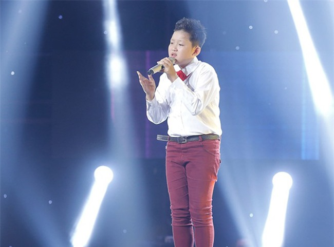 tan chay voi giong ca 11 tuoi hat dan ca tai the voice kids hinh anh 5