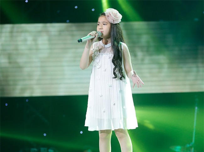 tan chay voi giong ca 11 tuoi hat dan ca tai the voice kids hinh anh 9
