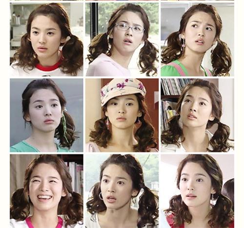 Những kiểu tóc một thời thương nhớ của cô dâu tương lai Song Hye Kyo-10