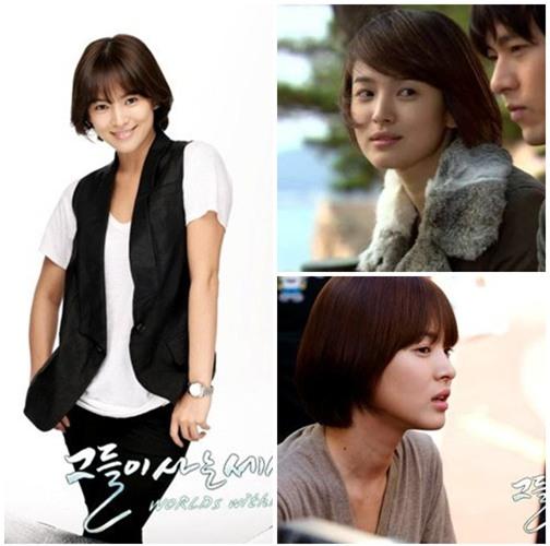Những kiểu tóc một thời thương nhớ của cô dâu tương lai Song Hye Kyo-5