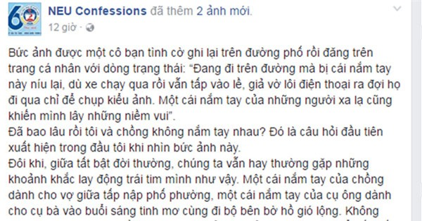 """buc anh khien bao cap vo chong phai giat minh thot len: """"bao lau roi minh chua cam tay nhau?"""" - 2"""