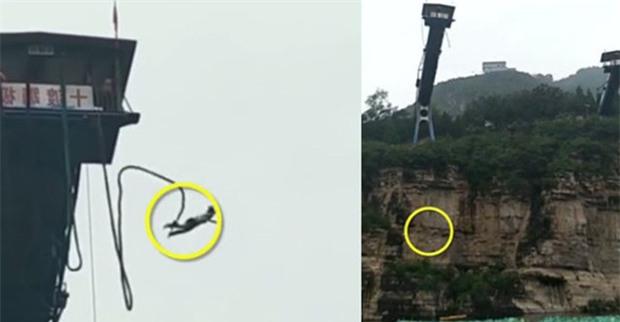 Trung Quốc: Hào hứng nhảy bungee, cô gái 17 tuổi rơi thẳng xuống sông ở khu thắng cảnh nổi tiếng - Ảnh 2.