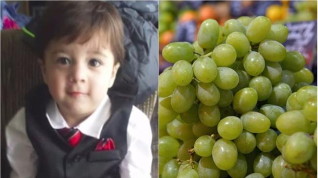 Đi siêu thị với mẹ, bé trai 2 tuổi tự ý bỏ 2 quả nho vào miệng và bị kịch đã xảy ra - Ảnh 1.