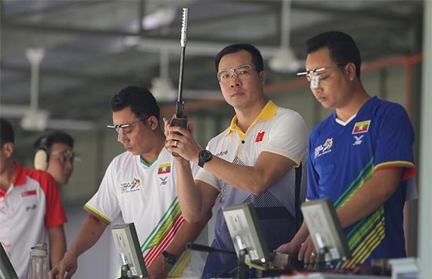 Hoàng Xuân Vinh bị loại ở nội dung từng giành HC bạc Olympic 2016 - Ảnh 2.
