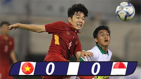 Phung phí nhiều cơ hội, U22 Việt Nam bị U22 Indonesia chia điểm