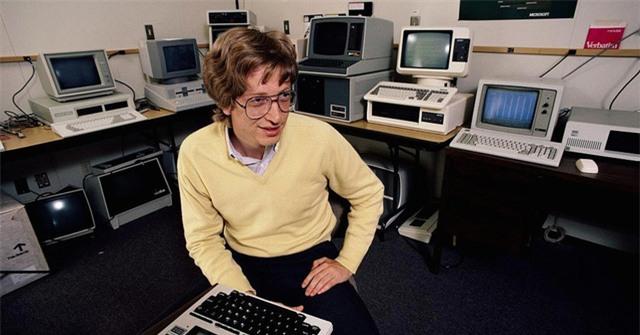 Bill Gates khi chỉ mới là một cậu sinh viên của trường Đại học Harvard.