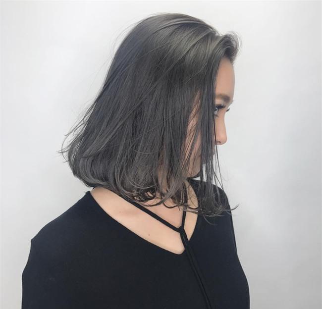 4 màu tóc khói mà nàng công sở nhuộm thoải mái không sợ nổi - Ảnh 14.