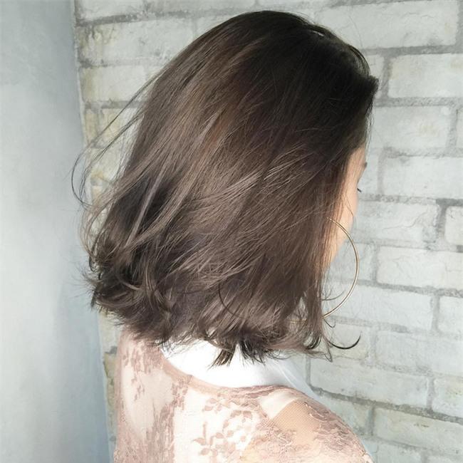 4 màu tóc khói mà nàng công sở nhuộm thoải mái không sợ nổi - Ảnh 17.