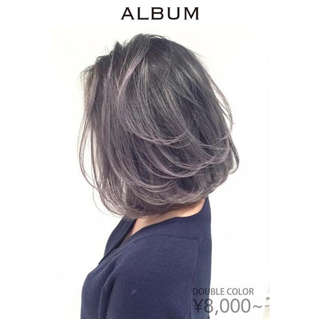 4 màu tóc khói mà nàng công sở nhuộm thoải mái không sợ nổi - Ảnh 2.