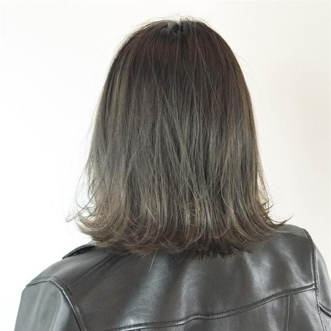 4 màu tóc khói mà nàng công sở nhuộm thoải mái không sợ nổi - Ảnh 5.