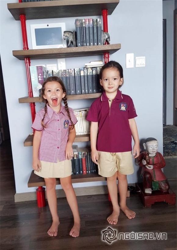 Hồng Nhung, con của Hồng Nhung, diva Hồng Nhung, mức học phí của con Hồng Nhung,chuyện làng sao,sao Việt