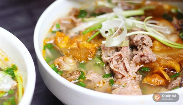 Ở Hà Nội có một món bún rất lạ: đầy ắp thịt bò mà chỉ có 25k-2