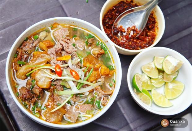 Ở Hà Nội có một món bún rất lạ: đầy ắp thịt bò mà chỉ có 25k-3