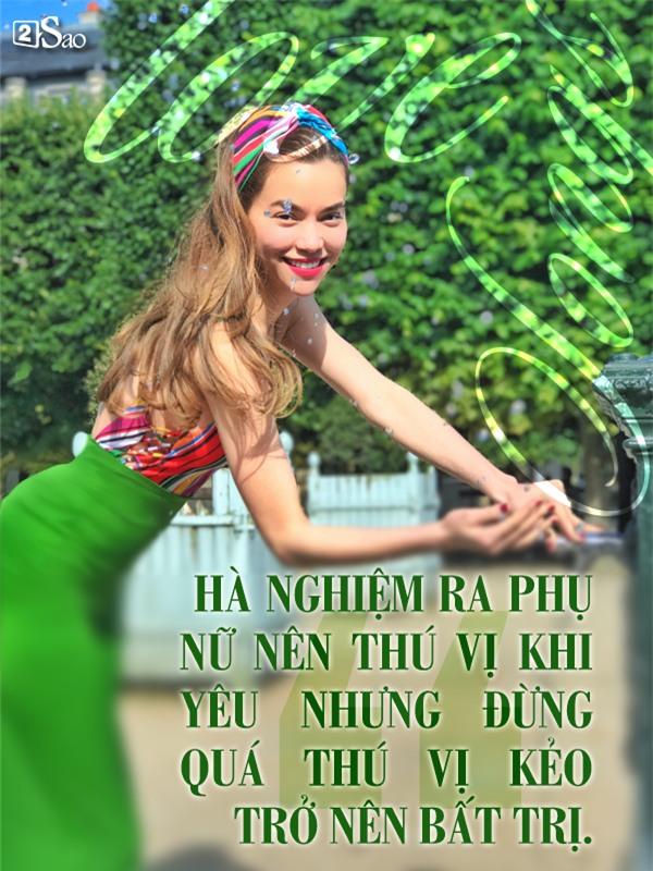 Châm ngôn tình yêu đóng mác Hà Hồ sau nhiều cuộc tình... vỗ cánh bay-4