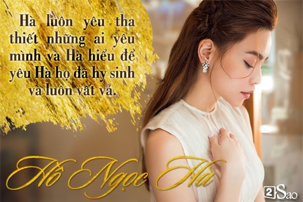 Châm ngôn tình yêu đóng mác Hà Hồ sau nhiều cuộc tình... vỗ cánh bay-6